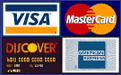 Synergy Blends accepts Visa, MasterCard, Discover and American Express credit cards