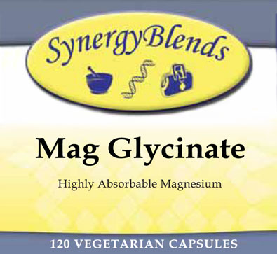 Mag Clycinate, highly absorbable Magnesium